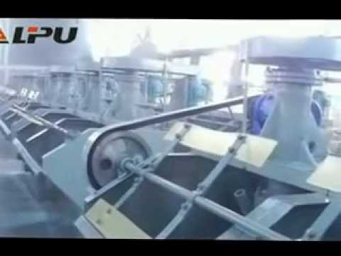 Flotation Machine Test Running-Shanghai Lipu Heavy Industry Co.,Ltd