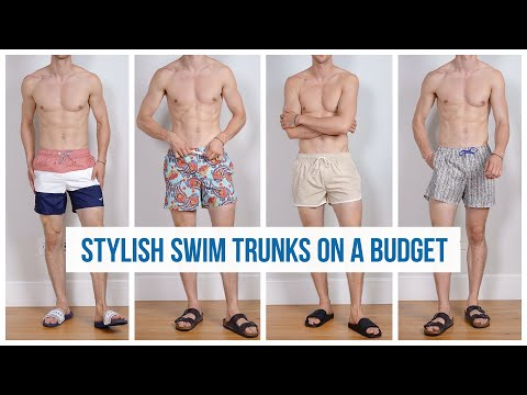 6 Affordable Swim Trunks In Stores RIGHT NOW | Men's Swimsuit Haul Summer 2019