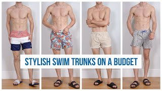 6 Affordable Swim Trunks in Stores RIGHT NOW   Men's Swimsuit Haul Summer 2019