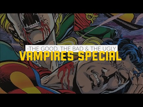 Blade, Morbius and Superman vs Vampires! ft. Professor Thorg