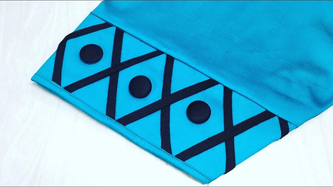 Latest Salwar Pouncha Design/Punjabi Salwar Mohri Design || Sewing tutorial