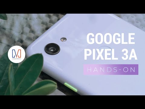 Google Pixel 3a Unboxing and Hands-On