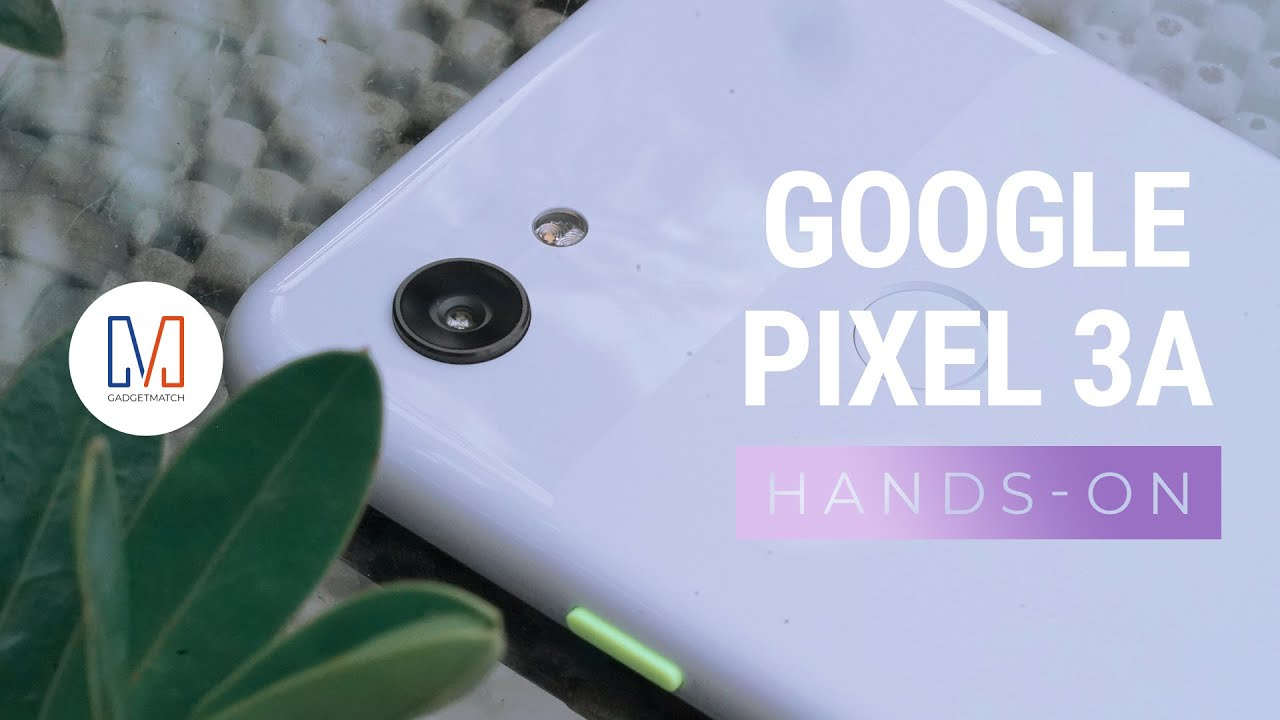 Google Pixel 3a present to your attention