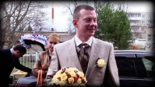 Павел и Татьяна: клип из материала свадебного фильма.