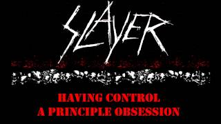 Slayer - Expendable Youth (w/lyrics)