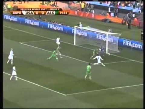 USA 2010 world Cup highlights