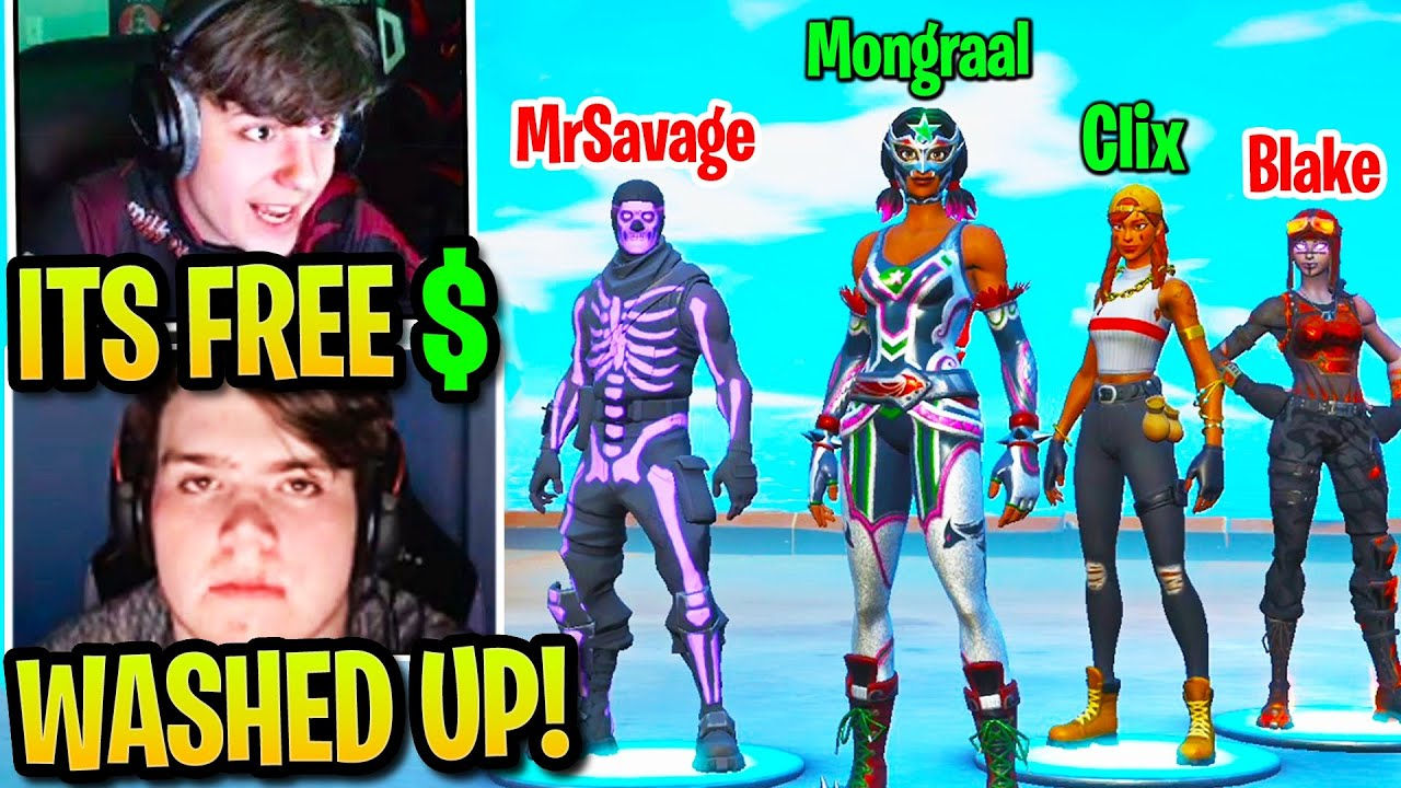 Clix & Mongraal PUNISH their EX Teammates after Randomly Called Out in 2v2 Wager! (Fortnite)