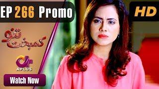 Pakistani Drama | Kambakht Tanno - Episode 266 Promo | Aplus ᴴᴰ Dramas | Tanvir Jamal, Sadaf Ashaan