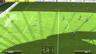 Gameplay FIFA 13 PC - Brasil vs Argentina [PT/BR]
