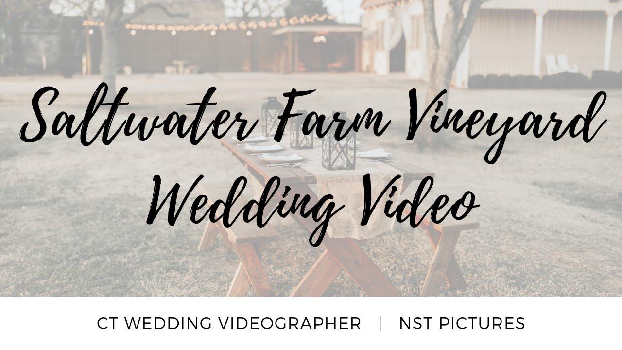 R Farm Vineyard Wedding Video Jennifer Timothy Ct Videographer