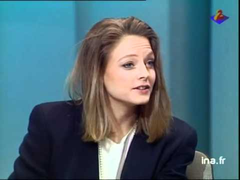 Jodie Foster french  on Ina Plateau