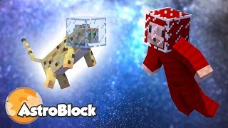 KOSMICZNY KOT! - Minecraft Astroblock