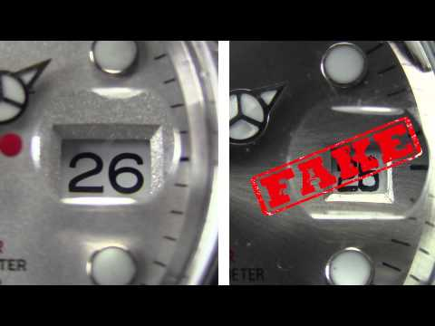 Rolex® Watches: Differences between Real and Fake