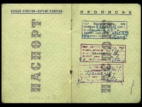 "LIFE IN USSR 24. How Soviet government controlled people using ""Propiska"" system"