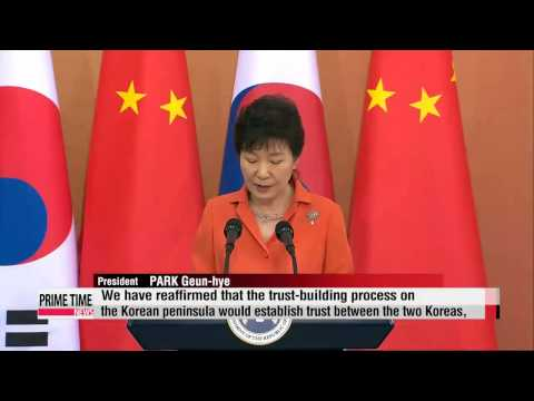 Korea-China summit: leaders express firm opposition to North Korea's nuclear ambitions