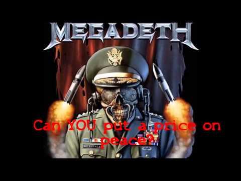 Megadeth - Peace Sells Lyrics (HQ)