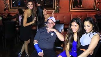 Players party at Seminole Hard Rock Hotel and Casino Jillian & Vanezza