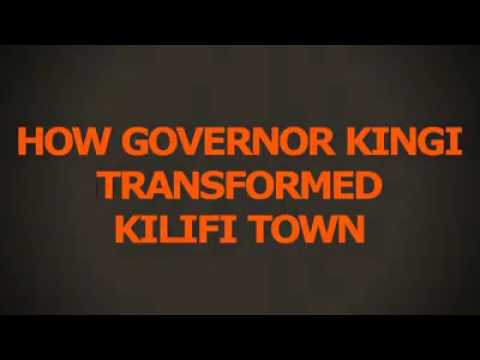 The new look kilifi Town