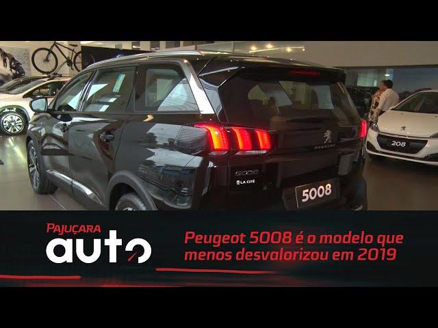 Peugeot 5008 é campeão no ranking dos modelos que menos desvalorizaram em 2019
