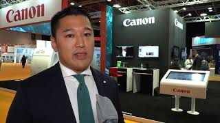 CANON talks to Arab Health TV