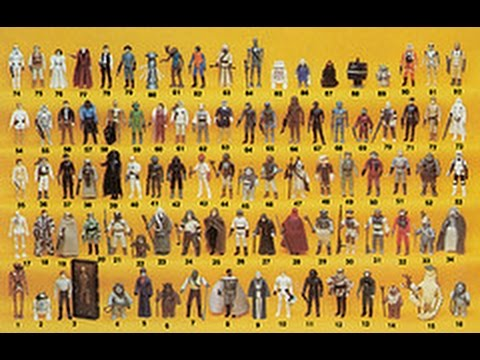 vintage star wars 1977 - 1985 checklist kenner action figures