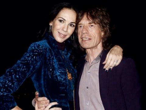 Mick Jagger pays tribute to fashion designer L'Wren Scott