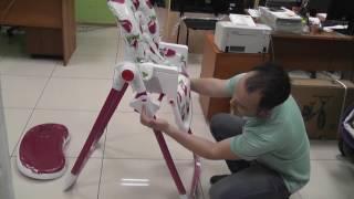Обзор стульчика для кормления Capella S-202