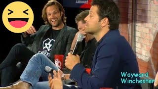 Misha Collins Tells The FUNNIEST Fart Story EVER! Jensen Jared & Mark LOSE IT!