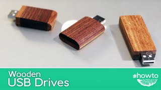 How to Make a Wooden USB Drive