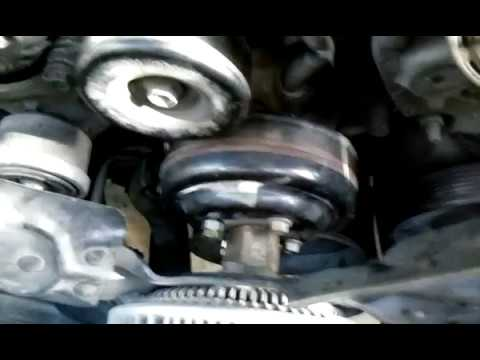 Loosen Pulley Bolts Loosen Fan And Clutch From Water