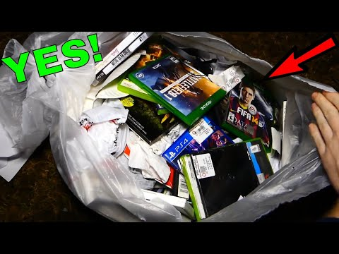 This BAG is LOADED with GREAT stuff!!! Gamestop Dumpster Dive Night #420