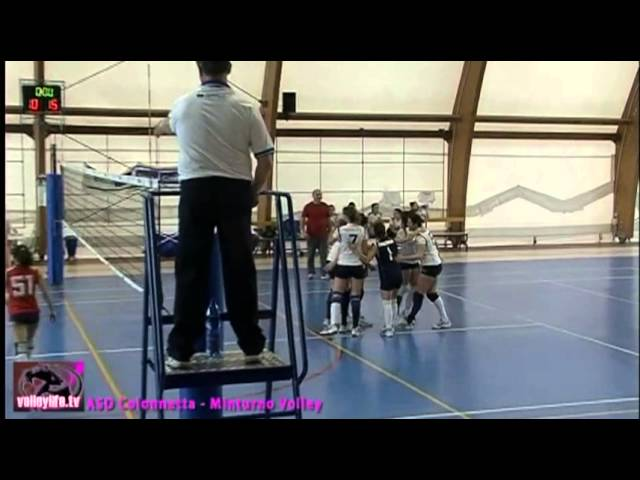 ASD Colonnetta vs Minturno Volley - 1° Set - Playoff II° Div.