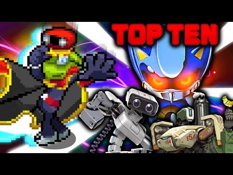 Top Ten Robots in Video Games(2018)