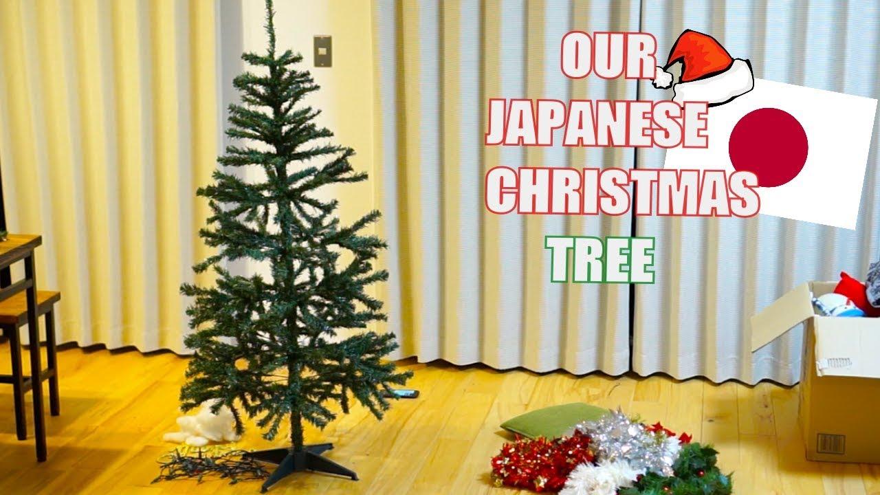 Decorating My Japanese Christmas Tree Youtube