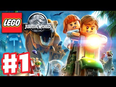 LEGO Jurassic World - Gameplay Walkthrough Part 1 - Jurassic Park Prologue (PC)