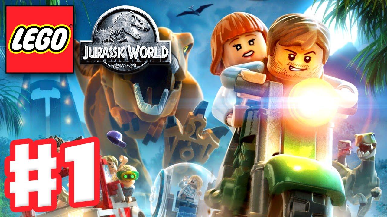 Lego Jurassic World Gameplay Walkthrough Part 1 Jurassic Park Prologue Pc Youtube