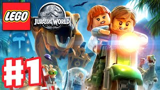 LEGO Jurassic World - Gameplay Walkthrough Part 1 - Jurassic Park Prologue (PC)
