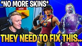 tfue admits he s never buying skins again until fortnite item shop moments - fortnite stahlhart