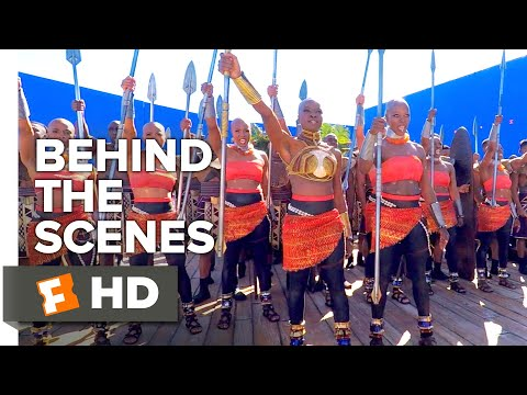 Black Panther Behind the Scenes - Female Warriors (2018) | Movieclips Extras