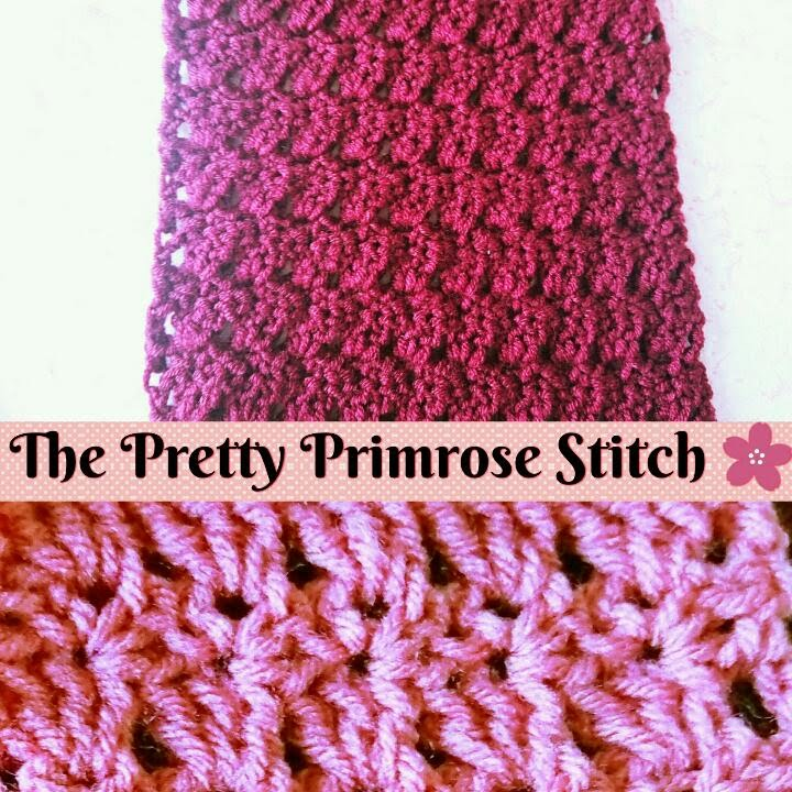 Easy Crochet How To Make The Primrose Stitch Scarf Step By