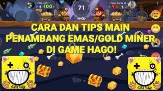 CARA DAN TIPS MAIN PENAMBANG EMAS DI GAME HAGO!!!