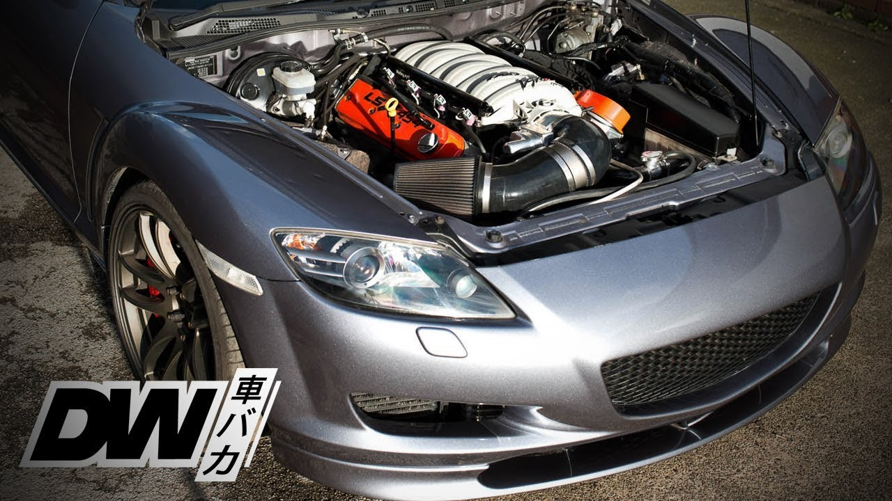 Most hated Mazda RX8 - LSX V8 600 HP