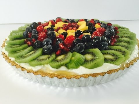 Fresh Passion Fruit Tart With Fresh Fruits with Raihana's Cuisines
