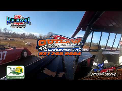 #21 Jason Lively - Super Late Model - 1-6-19 Talladega Short Track - In Car Camera