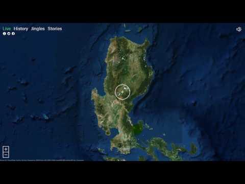 วิทยุออนไลน์ฟังผ่านแผนที่โลก   โดย สุชาติ พรมมี