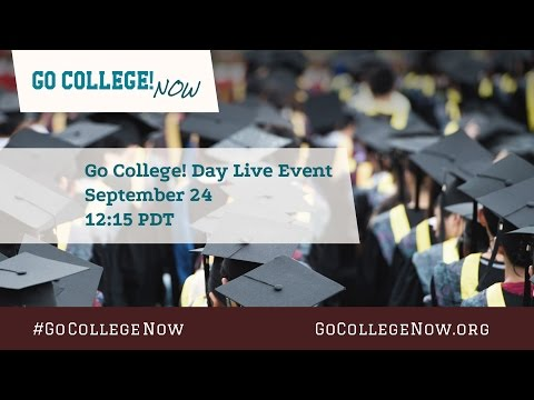 Go College! Day Live Event w/ Filmmakers & Cast