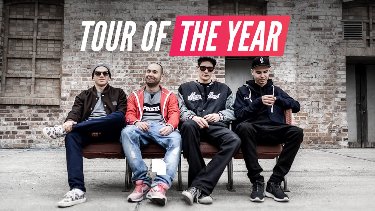 VNM x KUBA KNAP x W.E.N.A. x KUBAN - TOUR OF THE YEAR (TELEDYSK)