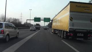 from uster to regensdorf autobahn a53 a1 a4 schweiz 02 2011 1080p hd