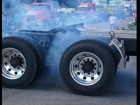Semi Truck Burnout Compilation