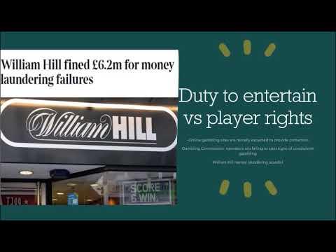 UK Gambling Industry- Business Ethics